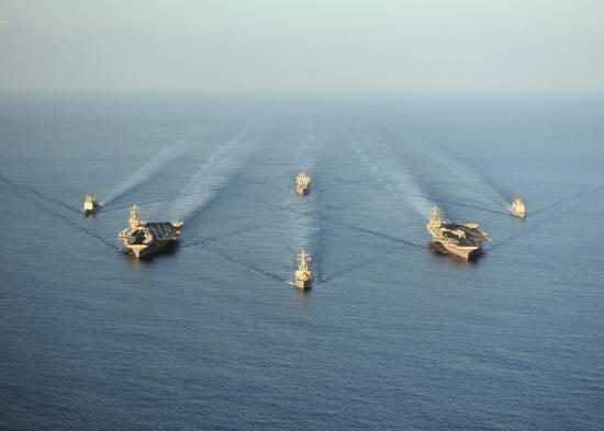 Пентагон: никаких перемещений ВМФ США в Средиземном море не происходит