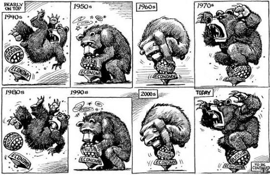 Перипетии российской экономики по версии The Economist