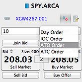 Торговая программа Exante: добавлены новые типы заявок – ATO и ATC