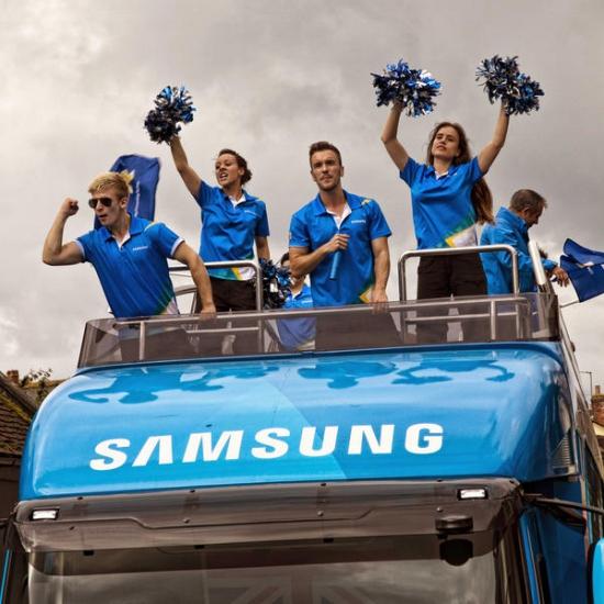 Samsung радует инвесторов