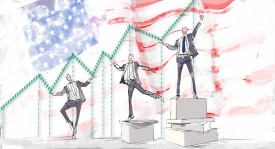 Акции, которые не боятся кризисов: США