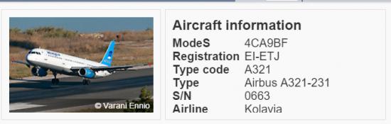 Упавший самолет - старое корыто!