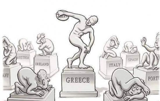 Долг, который не платит грек.