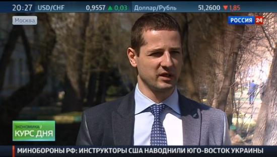 """В. Олейник сегодня на """"Россия 24"""""""