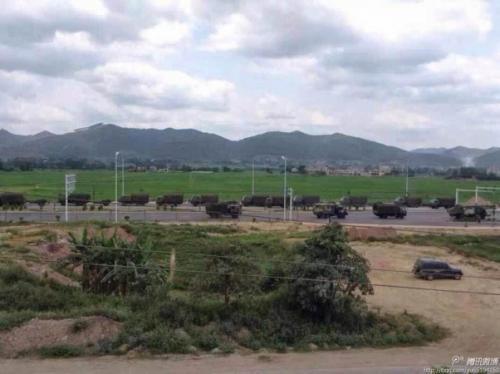 Китай стягивает войска к границе с Вьетнамом