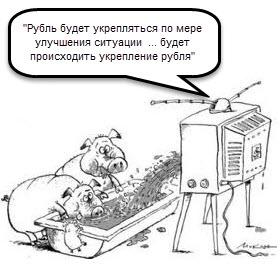 Стабилизация рубля.