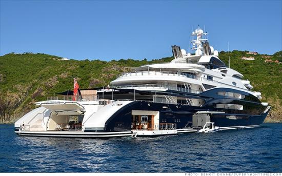 Восемь крутейших яхт в мире