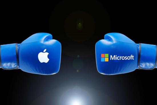 Битва дивидендов: Apple vs. Microsoft