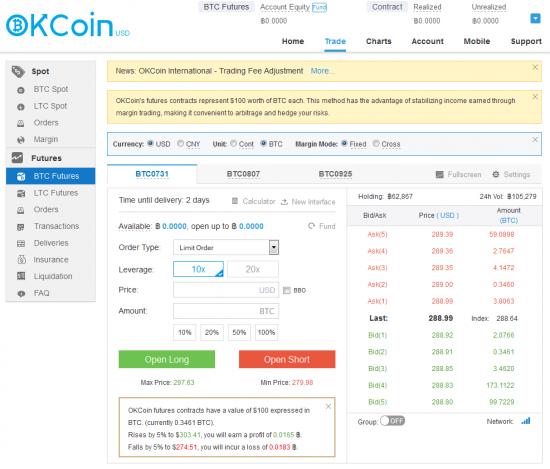 Получение маркетдаты с биржи биткоинов