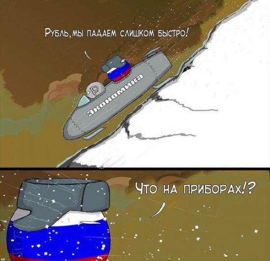 ..... рубль падает??? что по приборам?