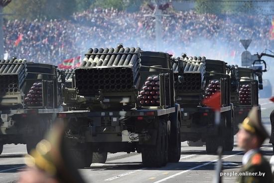 Парады.Минск.