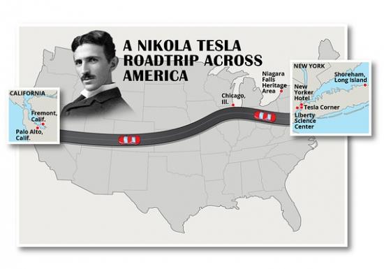 Идея отпуска. Никола Тесла