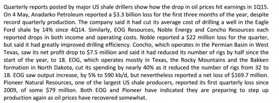 Will stop decreasing of crude oil price?