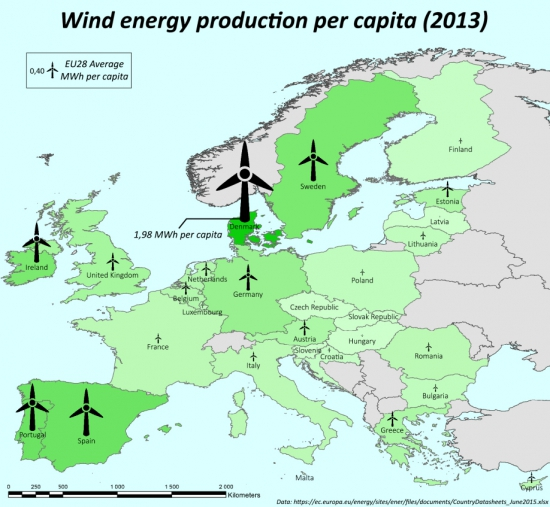 Энергетика Европы // ОДНОЙ картинкой