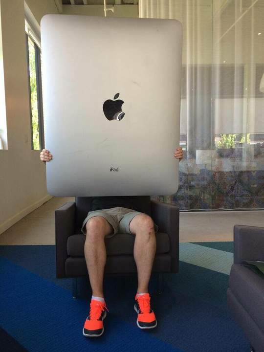 Новый iPad... (Покупаем акции Apple)