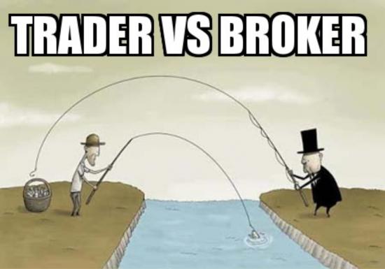 TRADER vs BROKER