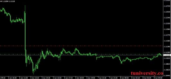 Пара eur/usd склонна к снижению.