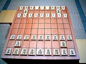 Японские шахматы vs классические шахматы.
