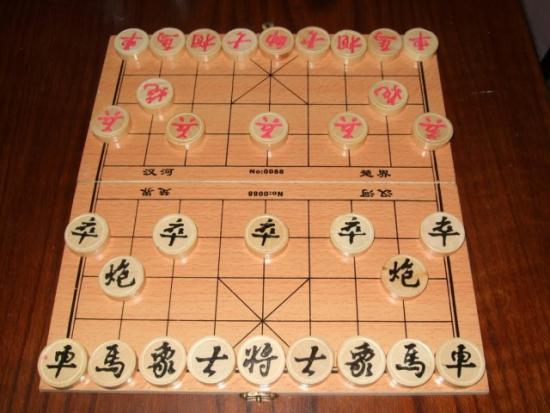 Китайские шахматы vs классические шахматы.