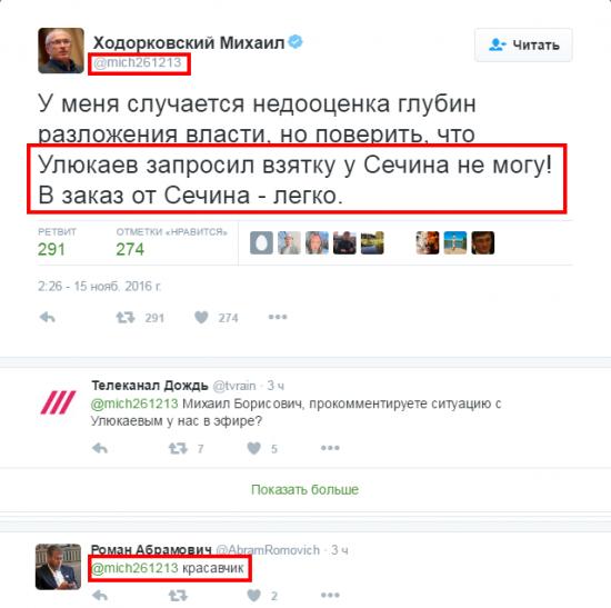"""Дело Улюкаева: """"красная нить"""" политики"""