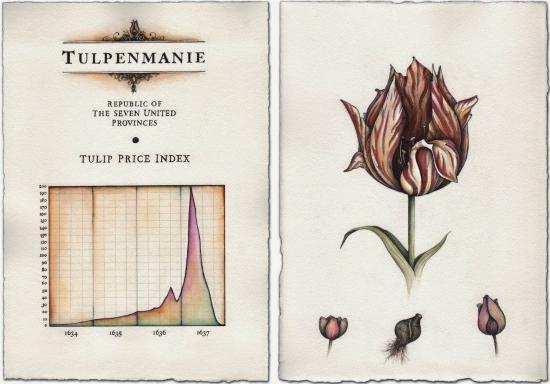 Тюльпаномания, как это было кризис 30-х годов XVII века
