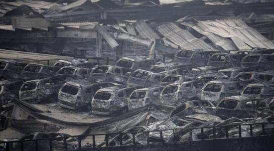 Теория заговора: Взрыв в Тяньцзине призван очистить растущие запасы на складах Китая