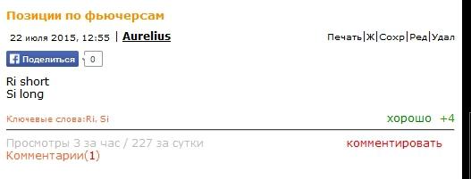 Вчера давал рекомендации перед ростом Доллар-рубль