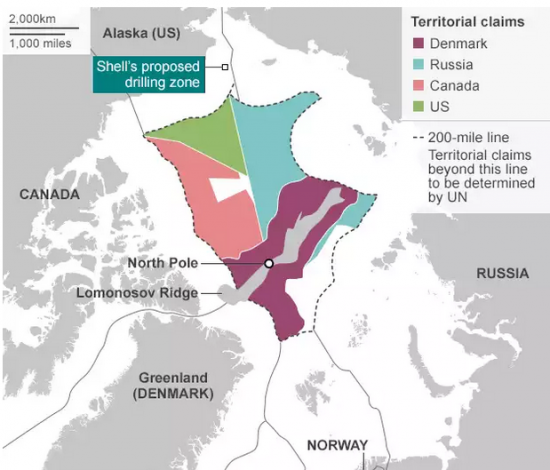Shell готов начать бурение в Арктике в течении недели