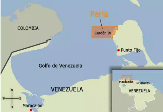 Perla располагает 17 триллионами кубических футов газа, что соответствует 3,1 млрд баррелей нефтяного эквивалента
