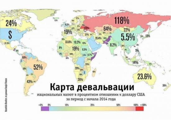 Полезные финансы. Экономическая карта мира ч.1.