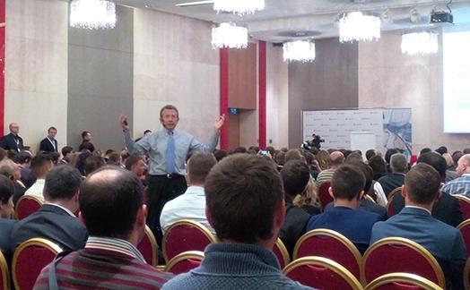 Ларри Вильямс в Москве, 21 ноября.