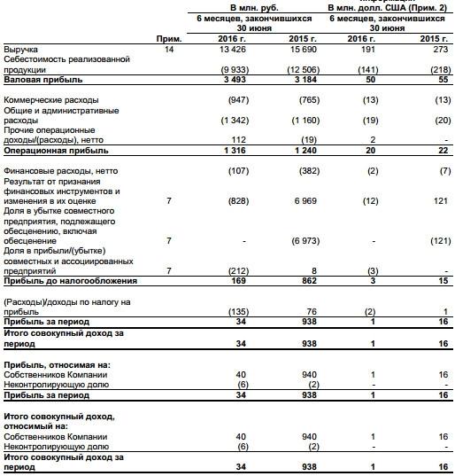 Соллерс - падение рублевой прибыли в 27 раз (1 п/г МСФО)