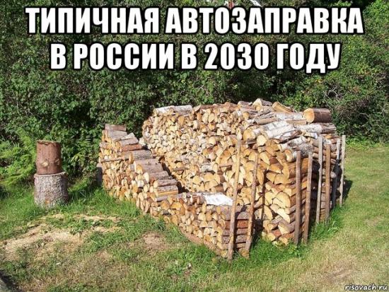 Тесла ВСЁ! В России создали автомобиль на дровах