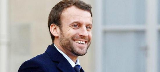 Макрон побеждает в первом туре выборов президента Франции.