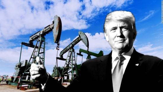 Трамп решил распродать нефть.