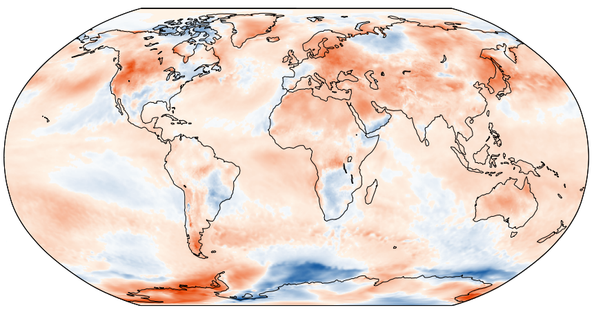 Глобальное потепление прогрессирует