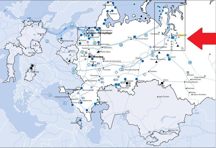 Газпром трещит по швам: пожар в Новом Уренгое