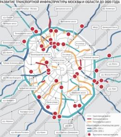 План развития дорог Москвы