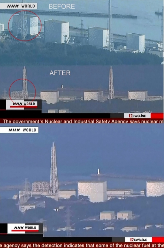 взрыв реактора в Японии