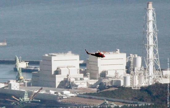 фото японской атомной станции