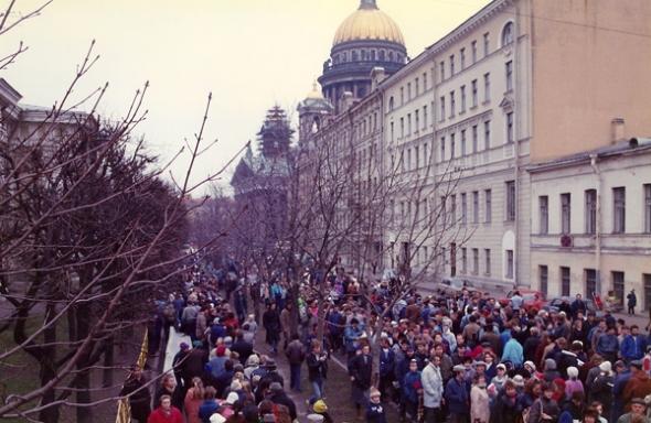 Я мечтал жить в США. Теперь я мечтаю жить в Петербурге
