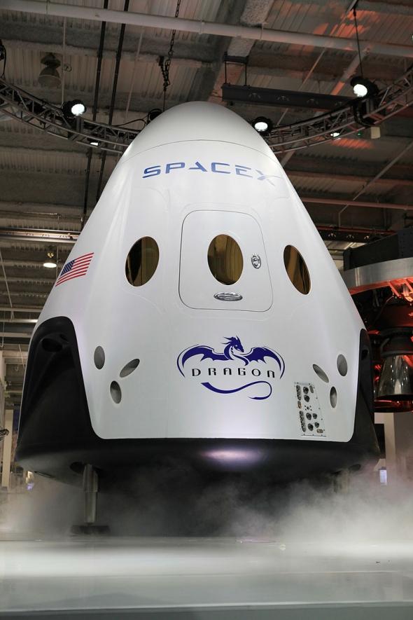 SpaceX запустила космический корабль Сrew Dragon