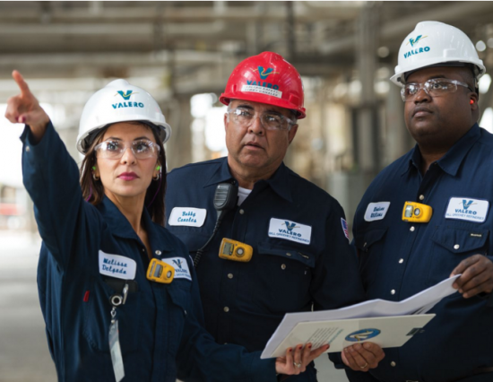 "Valero Energy Corp.: successful leadership transition and ""first-class operational performance."""
