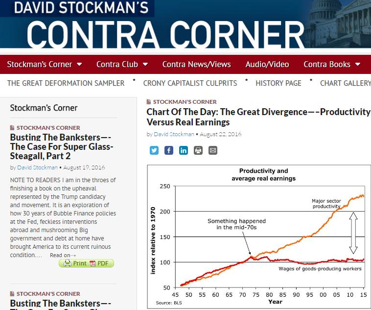 Продолжая тему. Излом 1970-х. Экономика 40 лет назад ушла из материи в фантом?