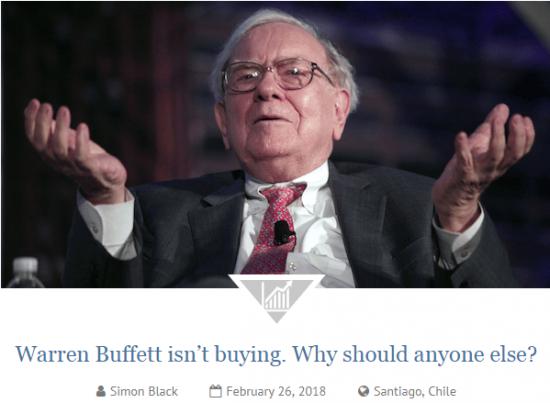 Баффет ничего не покупает. Ждет распродажи. Отчет Berkshire Hathaway.
