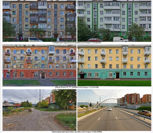 Как изменился Красноярск за 20 лет!!! Было и стало.