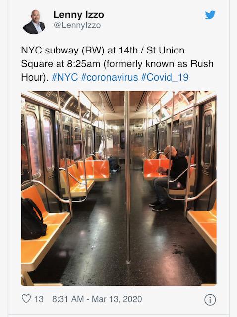 Коронавирус - Нью-Йорк. Началась паника. +Немного Европы.