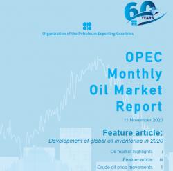 НЕФТЬ. Отчет OPEC.
