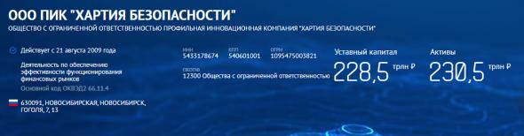 Секретная компания с активами $3.1 трлн из Новосибирска