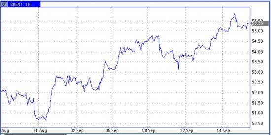 Рост цен нефти приостановился перед трудными для прохождения зонами
